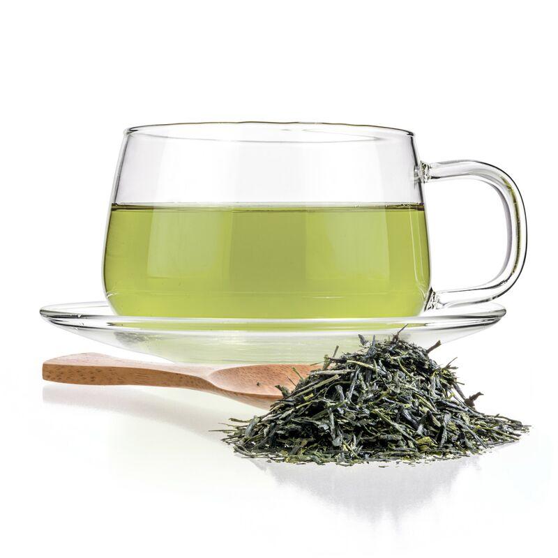 green japanese tea powder