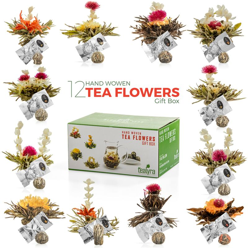 Flowering Tea Gift Box, 12pcs