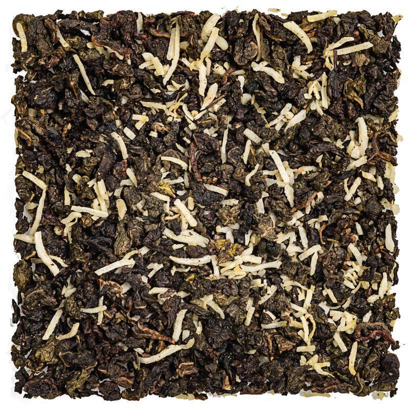oolong green milk tea